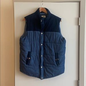 Marine Layer Puffy Vest Large